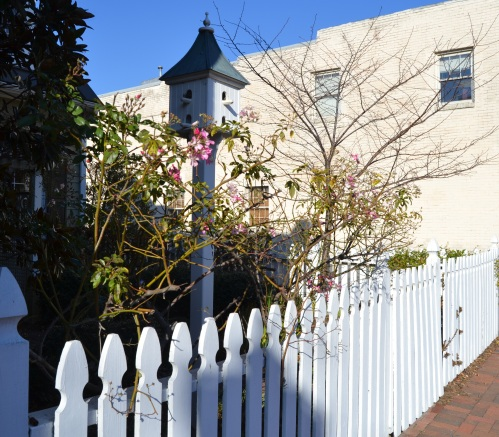 white fence wharf hill