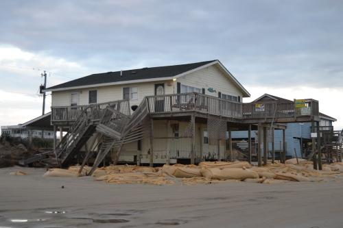 demolished cottage