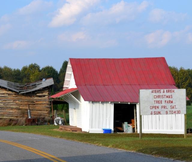 Christmas Tree Farm Barn   Am