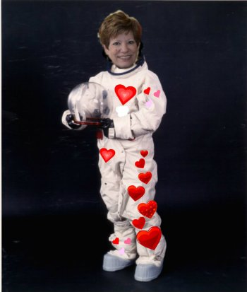 db in space suit
