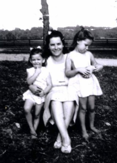 mom june rose as children