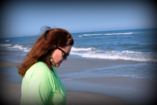 donna on the beach 5-3-2014 5-04-12 PM