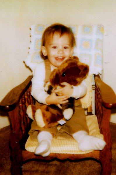 marshall with teddy
