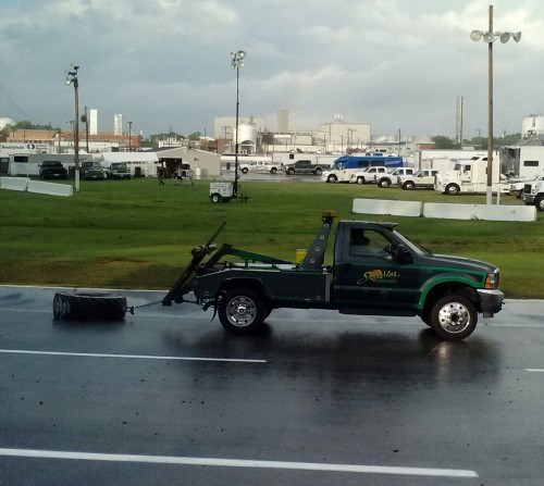 drying the track 7-28-2014 6-28-15 PM