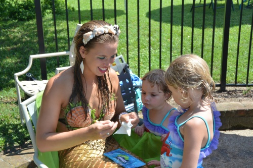 mermaid with livy and lily 7-12-2014 3-02-25 PM