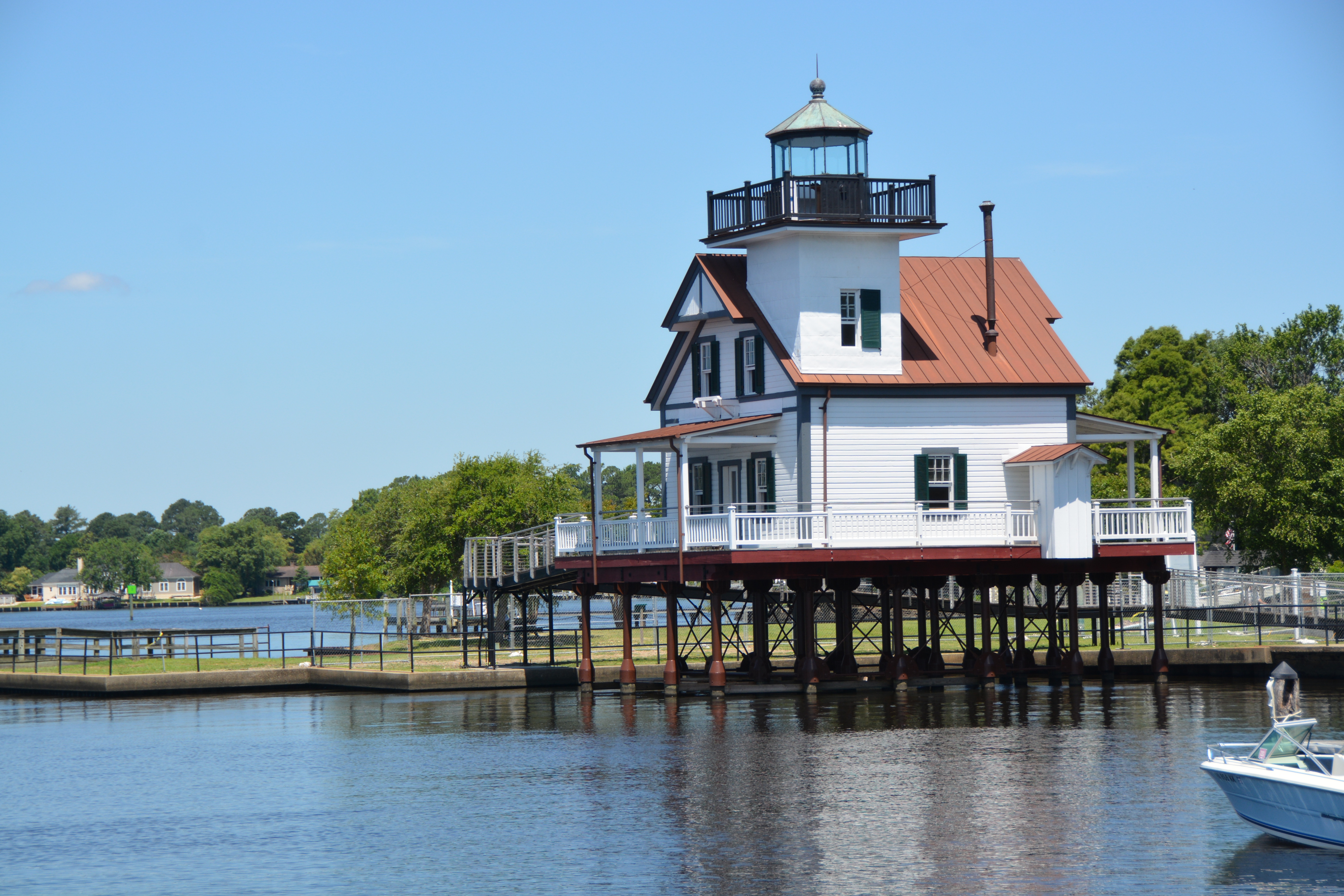 Roanoke River Lighthouse These Days Of Mine