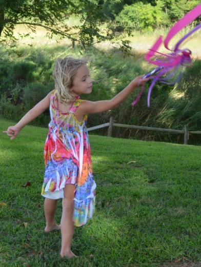 livy with streamers 8-24-2014 5-11-27 PM