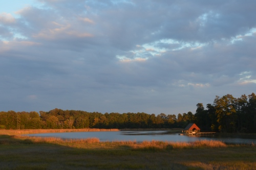 red boat house at sunset 10-18-2014 6-05-54 PM