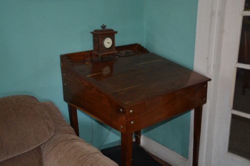 The desk made by Uncle Benn