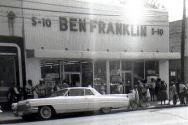Smithfield's first Ben Franklin store Photo courtesy of my friend, Debbie