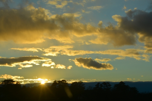 sunset and clouds 1-4-2016 4-46-08 PM