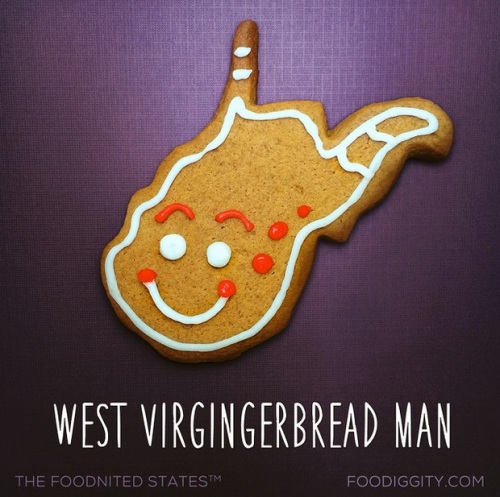west virgingerbread man saved